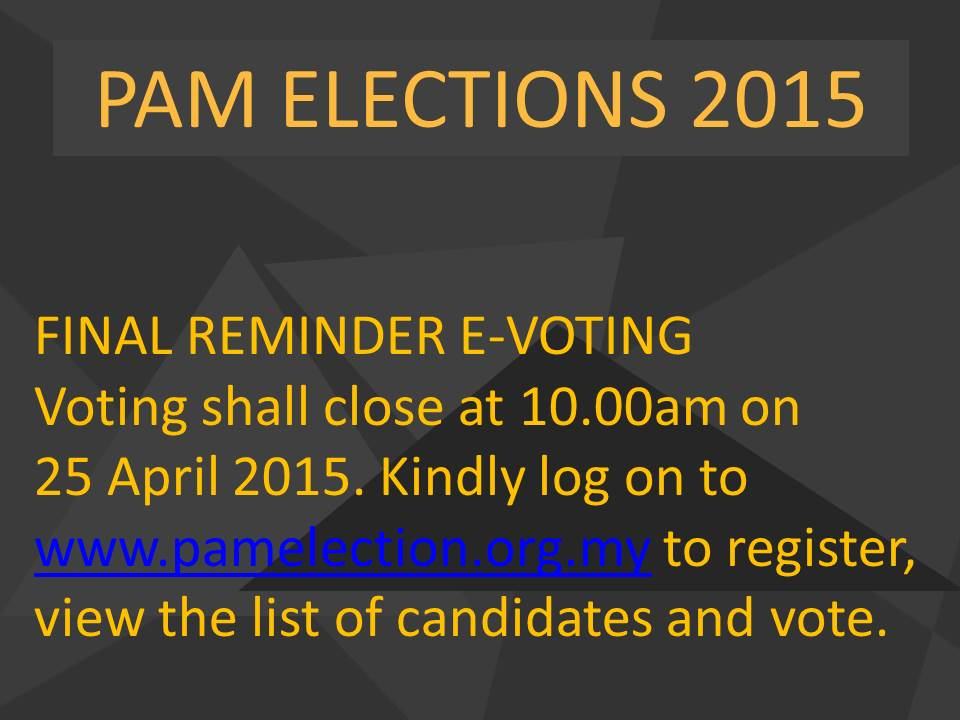 PAM Election 2015