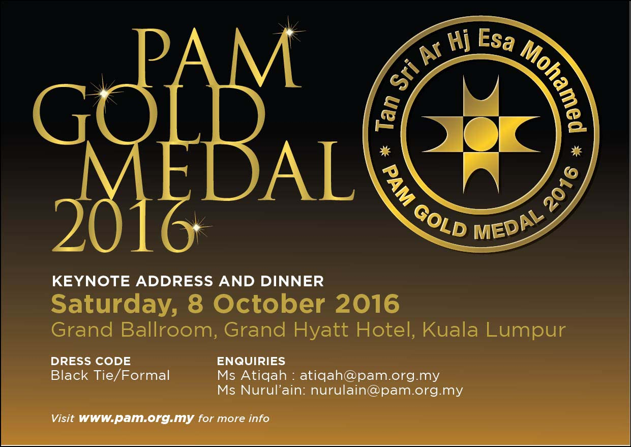 PAM  Gold Medal 2016
