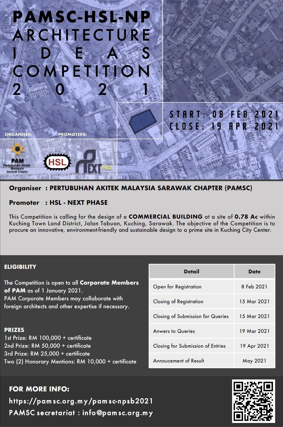 PAMSC-HSL-NP Architecture Ideas Competition 2021