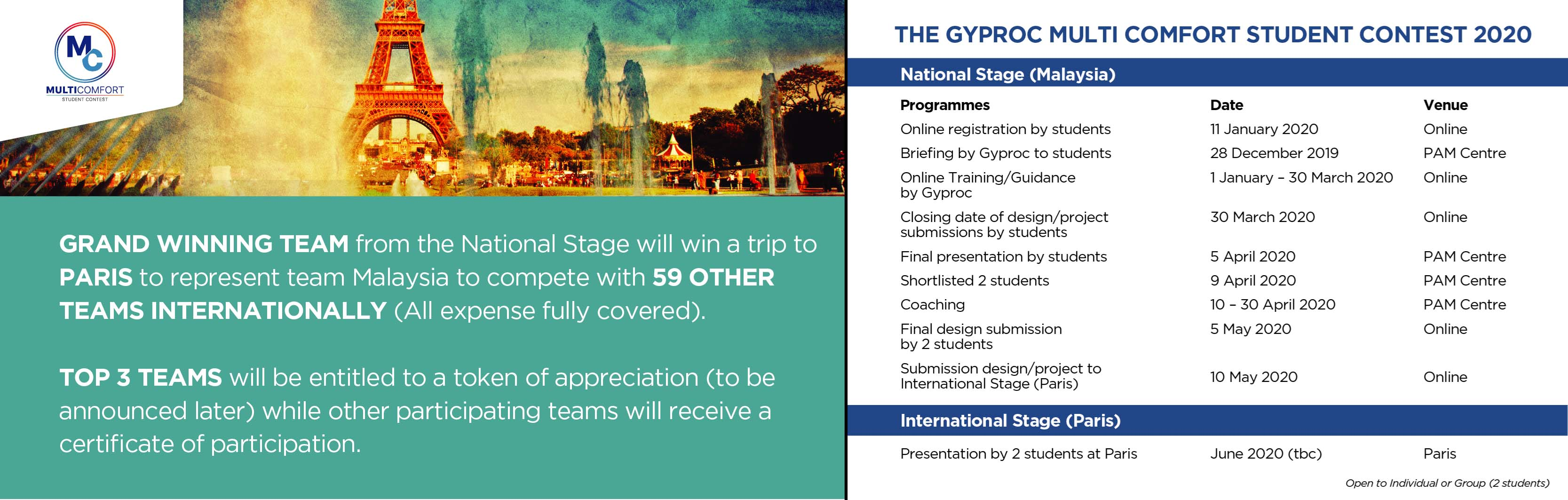 The Gyproc Multi Comfort Student Contest 2020