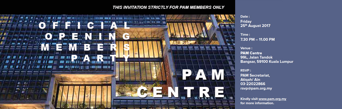 PAM centre official members party