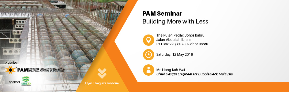 PAM Seminar - Build More With Less