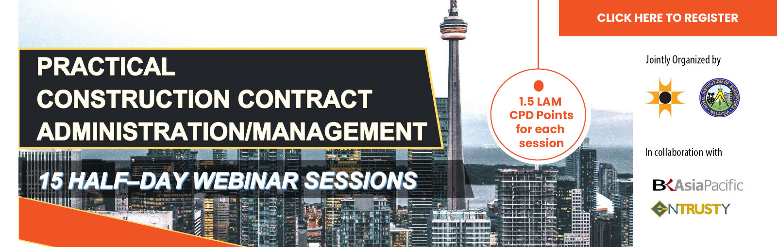 Webinar on Practical Construction Contract Administration Training 2020